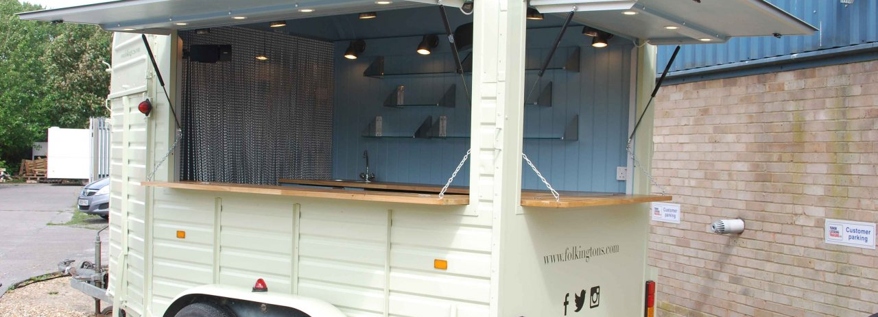 Horsebox trailer conversion